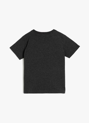 Koton Koton Antrasit T-Shirt Antrasit